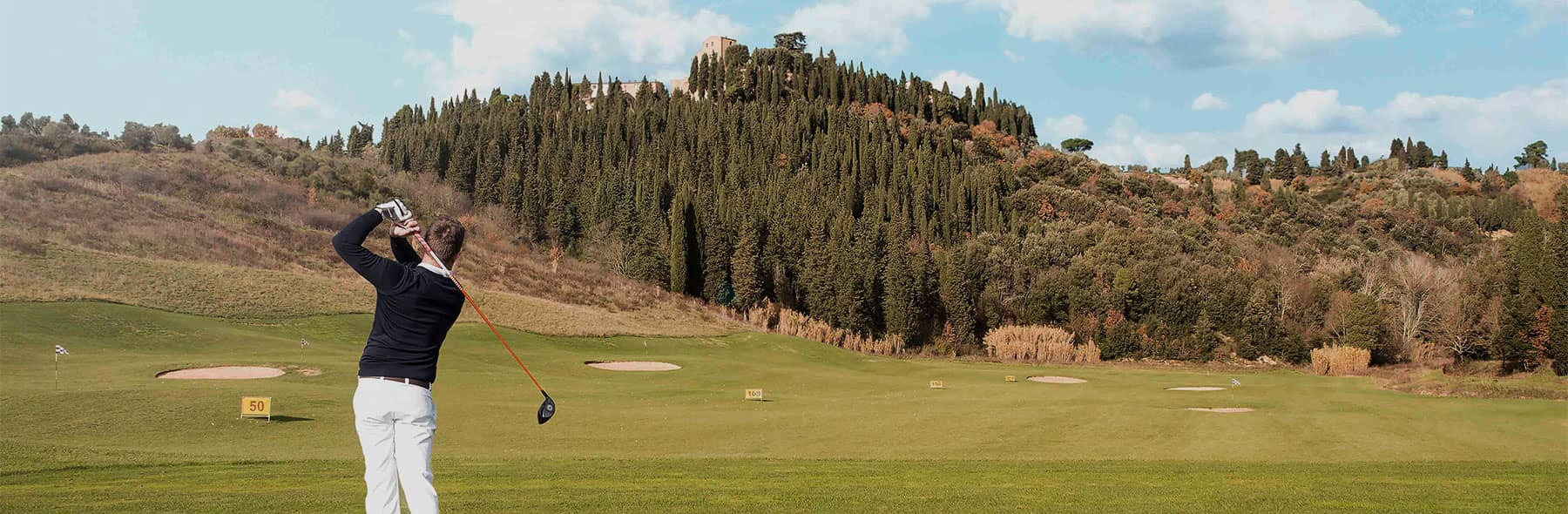 Golf class from a pro in Golf Club Castelfalfi